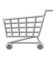 Shoppingcart vector image vector image