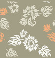 plants seamless pattern wallpaper vector image