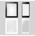 tablets and phone vector image