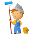 painters vector image vector image
