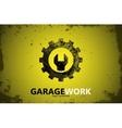 Auto repair Garage work logo Auto service vector image