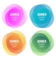 creative of colorful round vector image