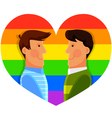 gay men vector image