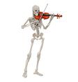 Violinst vector image
