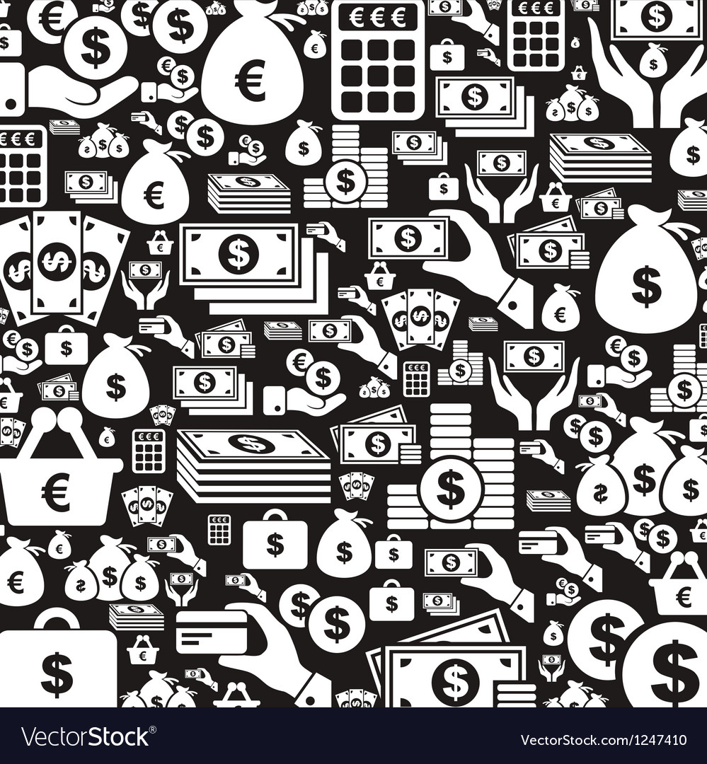 Money a background vector