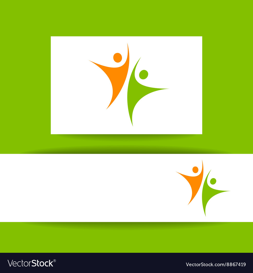 Success team template vector