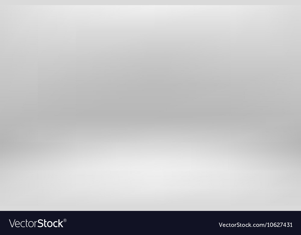 Gray studio room backdrop background soft light vector