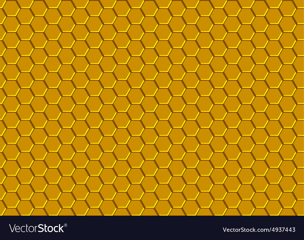 Honeycomb texture vector