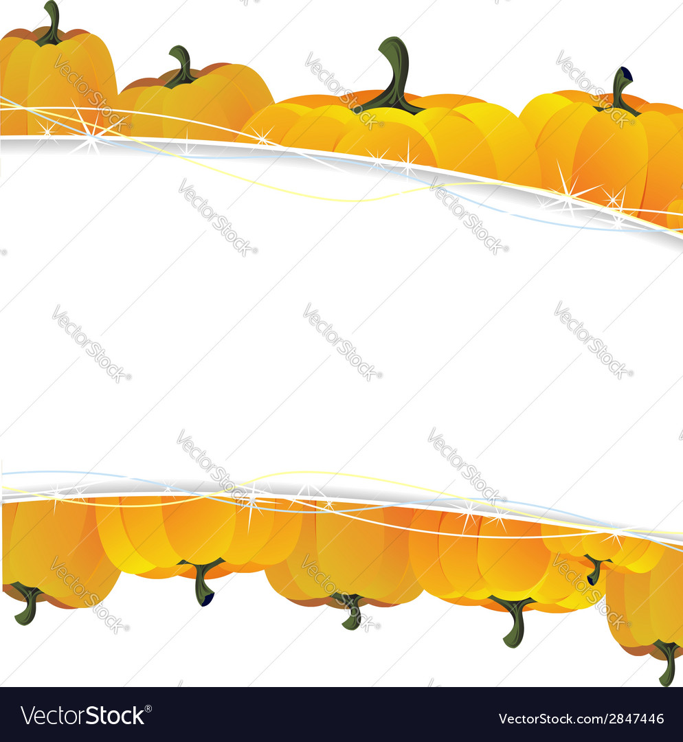 Rich autumn harvest vector