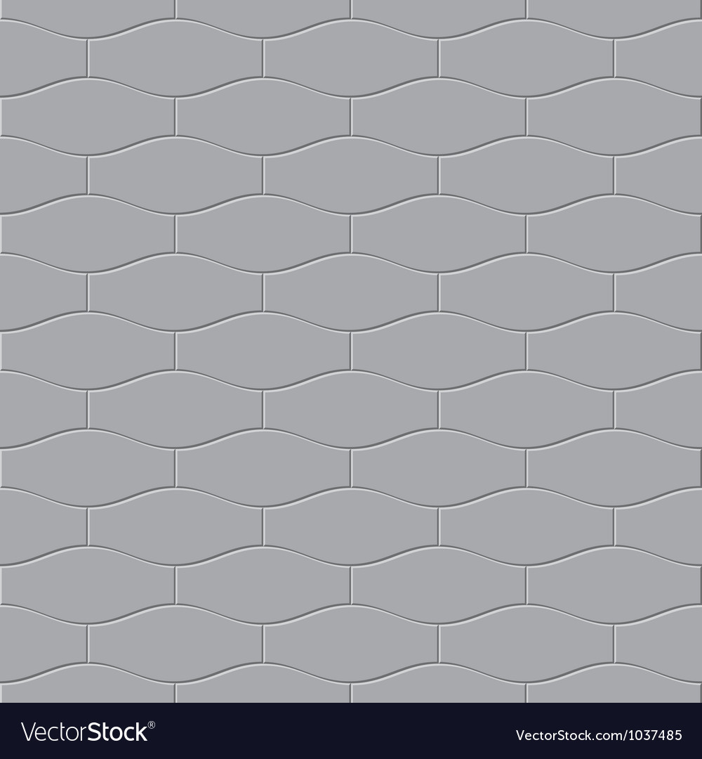 Gray paving stone seamless vector