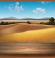 abstract landscape background vector image