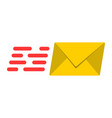 email marketing flat icon seo and development vector image