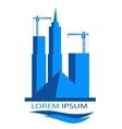 logo for construction company vector image