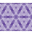 Seamless wallpaper with winter pattern vector image vector image