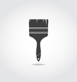 Brush Black Icon vector image