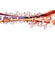watercolor greeting card vector image vector image
