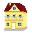 Big house vector image