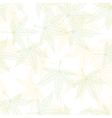 hemp seamless pattern vector image