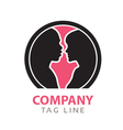 Interacial Relationship Logo vector image
