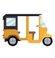 mototaxi isolated icon design vector image