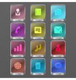 Infographic color icon vector image