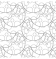 Graphic moon pattern vector image