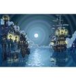 Adventure Island - Pirates Cove Bay vector image