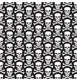 background pattern with skull and crossed bones vector image