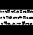Neighborhood with homes vector image