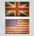 british flag old vector image