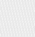Grey geometric maze seamless pattern vector image