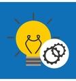 idea gear programming engineer vector image