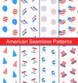 Set Seamless Textures vector image