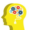 thinking people design vector image