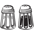 Kitchen shakers vector image