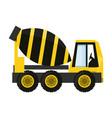 cement truck vector image