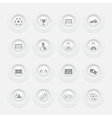 Button Soccer Icons web design Menu template vector image
