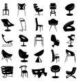 Modern chair vector image