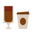Coffe cup vector image
