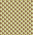 Mosaic seamless pattern in retro style vector image