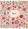on the theme of love vector image