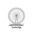 travel london city famous place english landmark vector image