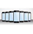 Set of generic Smartphones device useful for app vector image