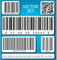 barcode set vector image vector image