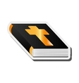 holy bible icon vector image