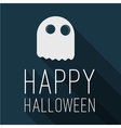 Halloween party poster mock up vector image