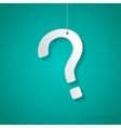 question mark icon Eps10 vector image