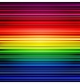 Abstract rainbow stripes colorful background vector image