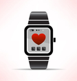 wearable love vector image