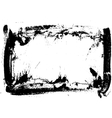 Hand-made grunge frame vector image